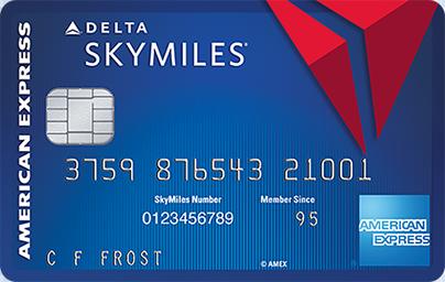 American Express Delta Blue Skymiles