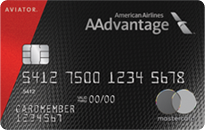 Barclaycard AAdvantage Aviator Red World Elite Mastercard