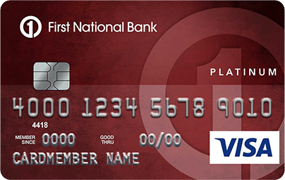 First National Bank Platinum Edition